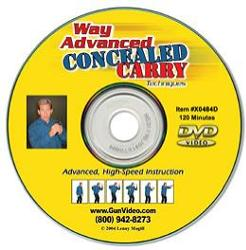 DVD Way Advanced Concealed Carry