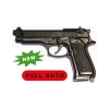 Bruni Pistola Beretta 92 Raffica Full Auto 8 mm a Salve