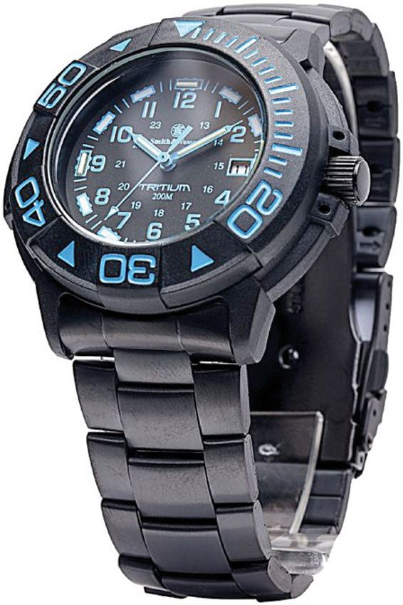 Smith wesson orologio watch tritium for Tritium dive watches