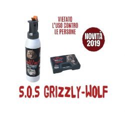 Defense Systems Spray Antiaggressione S.O.S. Grizzly-Wolf